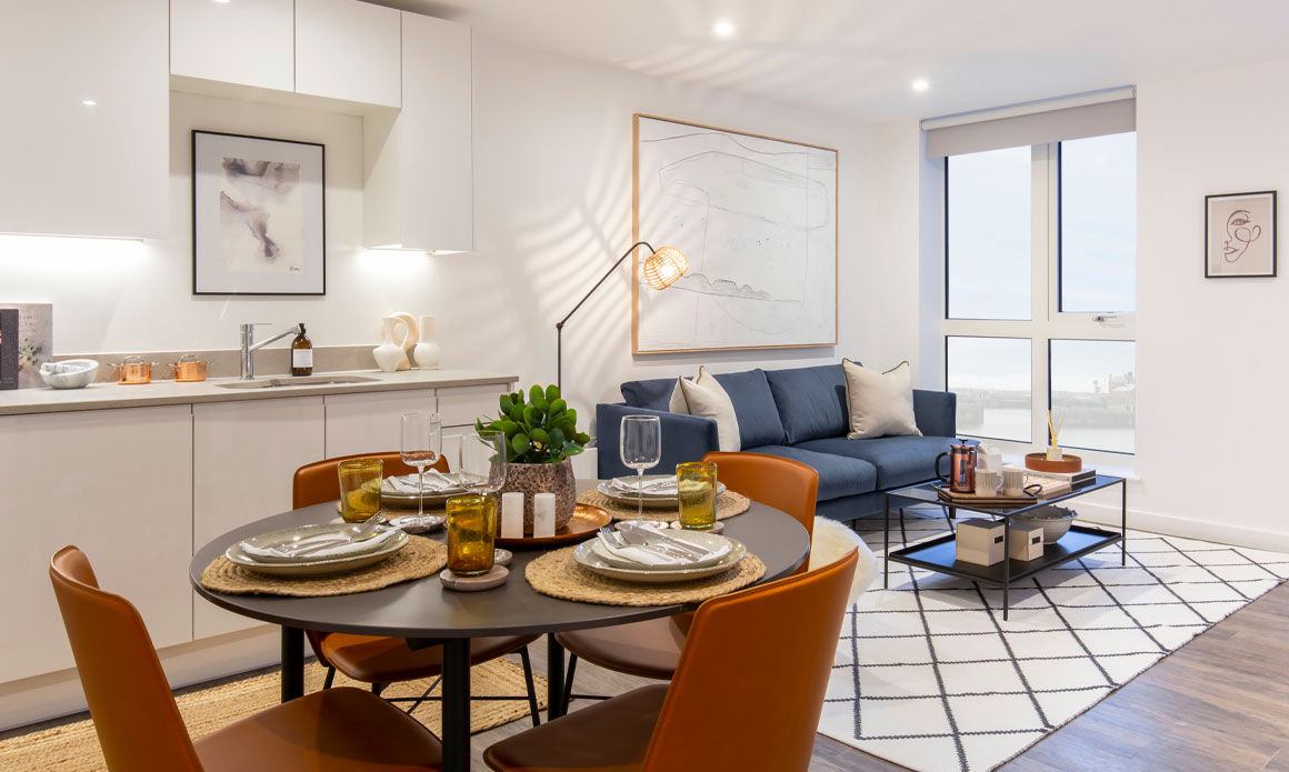 Three Bedroom Apartments - The Copper House