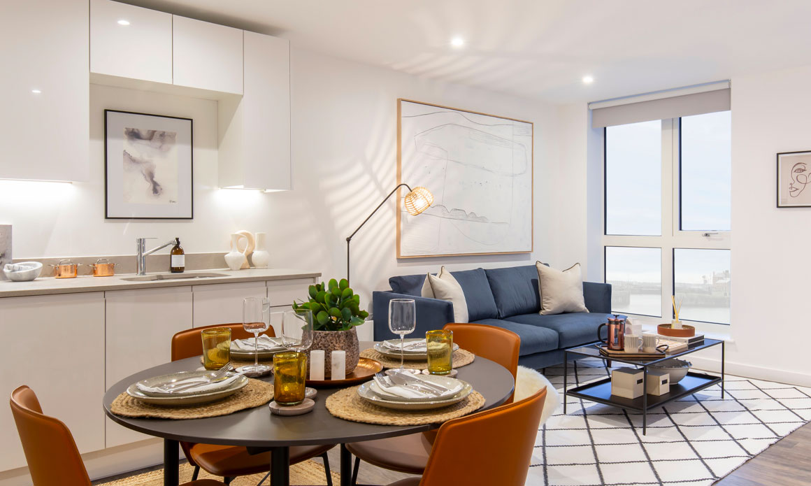 One Bedroom Apartments - The Copper House